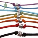 Ohm Kubus Armband of Enkelband SET van 8