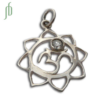 Ohm Lotus Hangertje 20 mm