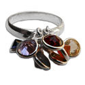 """Well-being"" 7 Chakra Ring"